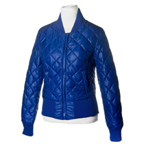 Xl Extra Large Campera University Color Azul. Camperas Mujer