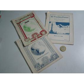 Revistas Timbre Postal Mexicano 1930 (3)