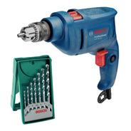 Combo Taladro Bosch Gsb 450re + Set 7 Brocas Para Concreto