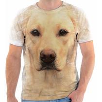 Camisa Camiseta 3d Cachorro Dog Labrador Estilo The Mountain