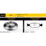 Kit 2 Discos + Pastillas Freno Larga Fremax Fiat Fiorino 147