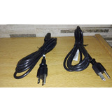 Cables Power Pc 110 Volts 1,8 Mts Ficha Americana $8,0