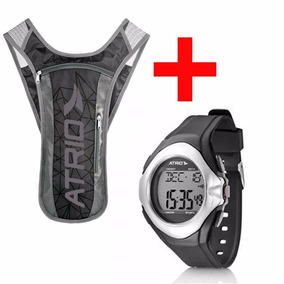Relógio Monitor Cardíaco Corrida + Mochila De Hidratação
