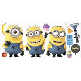 Despicable Me 2 Movie Minions Calcomanías Gigantes De La Pa