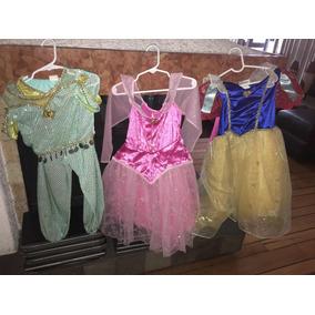 Disfraz Vestidos Talla 4-6 Disney Store Princesas