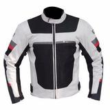 Chamarra De Cordura Con Protecciones R7 + Regalos Rider One