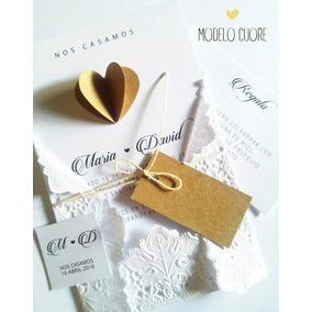 Invitaciones Casamiento Tarjetas Quince Años