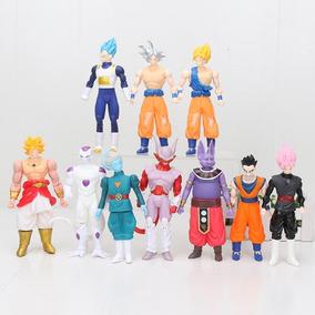 Kit 3 Bonecos Articulados Dragon Ball Z Gohan Goku Vegeta
