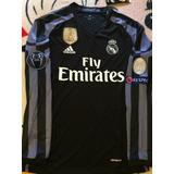 Jersey Real Madrid Manga Larga Champion