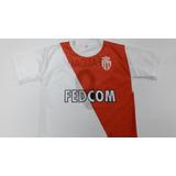 Camiseta Monaco Niño Falcao Remera Futbol