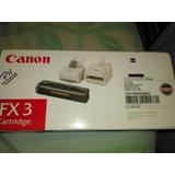 Toner Canon Fx3 Cartridge Nuevo