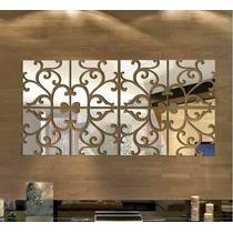 Espelho Decorativo Acrílico 1,2m X 0,60m Sala Quarto Grande