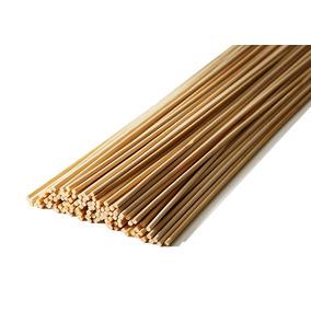 Vareta De Bambu 55 Cm P/ Pipas Gaiolas C/ 100