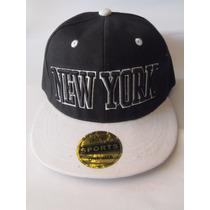 Jockey New York Blanco - Snapback / Nuevo - 2 X 8 Mil
