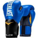 Guantes Boxeo Everlast New Pro Style Elite 12oz - Azul