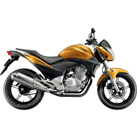 Faixa Adesivo Honda Cb 300 R - Dourado / Amarelo Metali 2011