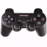 Controle Infinity Dual Shock2 Ps2 Ps1 Joystick C/ Vibração