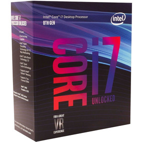 Processador Intel I7 8700k 4,7ghz 12mb Coffee Lake Lga 1151