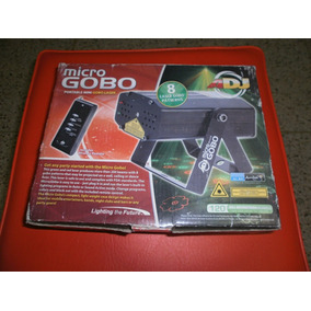 Micro Gobo Adj-laser Potente Y Con Varias Figuras (oferta)