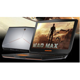 Alienware 17 R3 4k Ci7-6700hq 16gb  Solido 512gb  3gb Gtx970