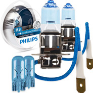 Kit Lâmpada Philips Crystal Vision Ultra H3 55w 4300k