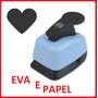 Kit Compre 10 Perfuradores Eva Papel Scrapbook + 1 Brinde