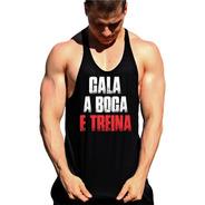 Regata Cavada Cala A Boca E Treina Fitness Masculina