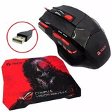Mouse Inalambrico - Kit Gamer Mouse