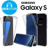 Case Estuche Silicón 360 Samsung S6 Edge S7 Edge S8 S8 Plus