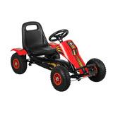 Go Kart Fierro Rojo Bebeglo