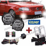 Kit Faros Auxiliares Gol Power 06/14 G4 T/orig + Kit Xenon