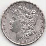 Estados Unidos 1 Dólar Morgan 1889 Plata