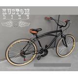 Bicicleta Vintage Harley Inspired - Beach Bike Retro Caiçara