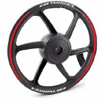 Friso Refletivo Adesivo Roda Moto Honda Cb 250 Nova Twister
