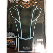 Protector De Tanque Motocicleta Pad Keiti 5 Pzs Fibra Carbón
