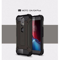 Funda Spigen Slim Armor Anti-shock Para Moto G4 Y G4 Plus.