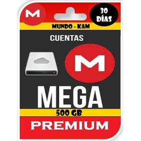 Cuentas Premium Mega 30 Días