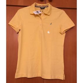 Camisa Polo Marca Náutica Feminina Nova