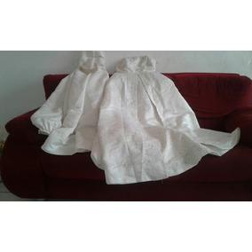 Vestido De Noiva Cor: Perola Vem Tiara E Calda