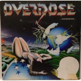 Lp Overdose ... Conscience - Capa Dupla.