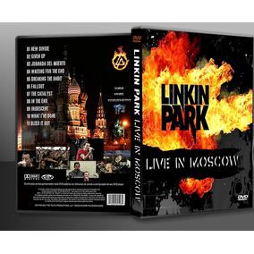 Dvd Linkin Park Live In Moscow - Frete Grátis !!!