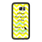 Religioso 2 Corintios Amarillo Chevron Para Samsung Galaxy S