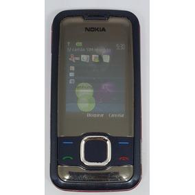Nokia Azul/vermelho 7610s Original Nacional Semi Novo