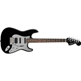 Guitarra Squier By Fender Stratocaster Black And Chrome Hss