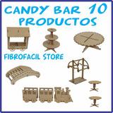 Candy Bar! 10 Productos! Tamaño Grande! Fibrofacil! Tren!
