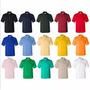 Chemises Unicolor Para Uniformes. Tela 100% Piquet Algodon.