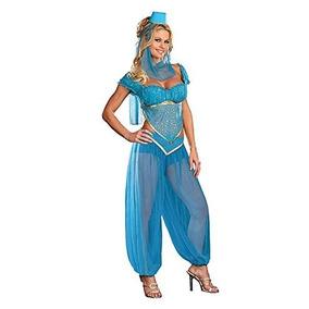 Princesa Jasmine Genie Bailarina Del Vientre Arabian Nights