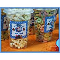 Souvenirs Pocoyo Vaso Con Tapa Pochoclo Tutuca Cereales