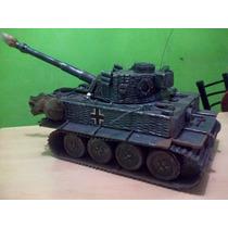 Tanque Tigre Segunda Guerra Mundial.artesanal A Mano