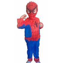 Disfraz Hombre Araña Spiderman Clasico Excelente